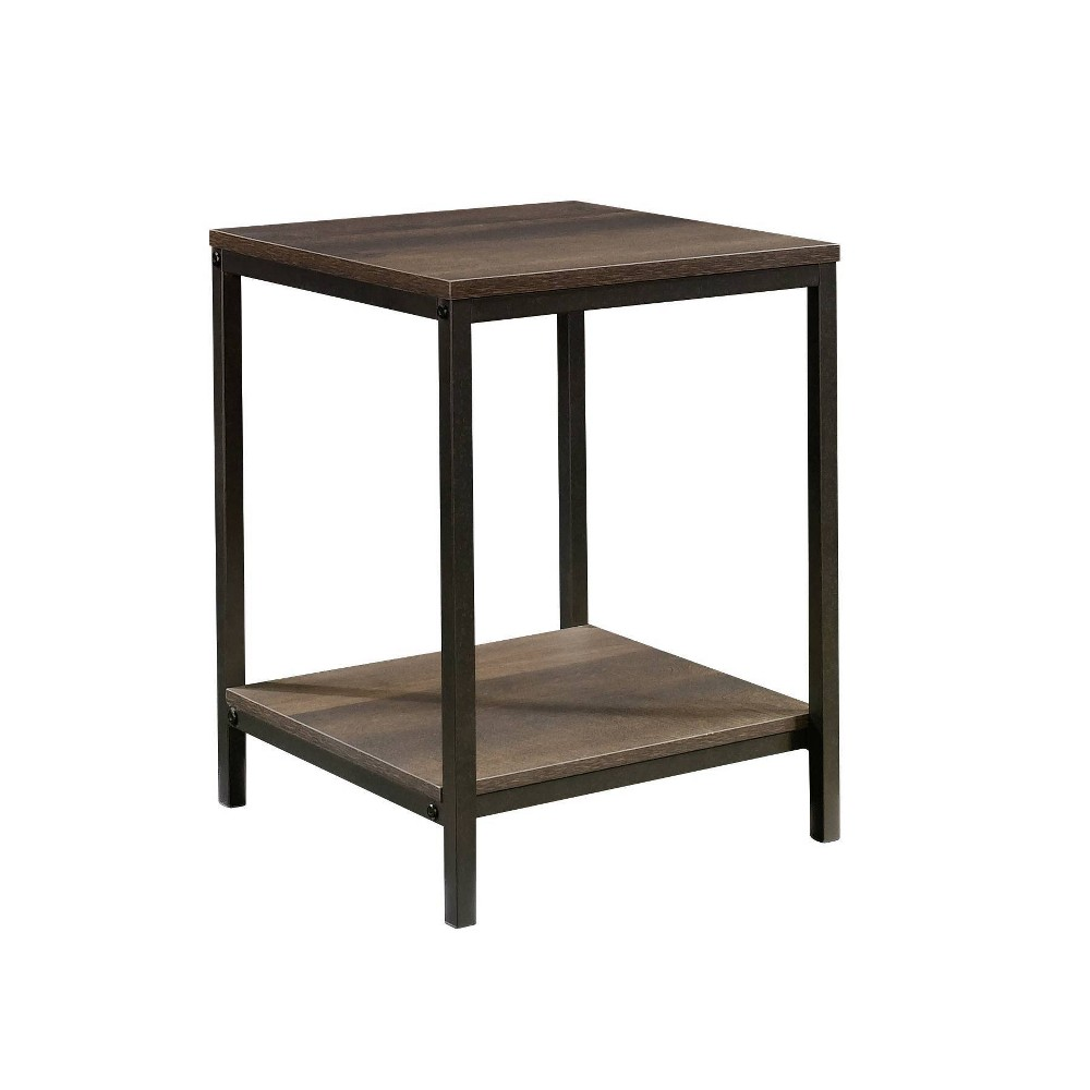 Image of North Avenue Side Table Smoked Oak Finish - Sauder, Brown