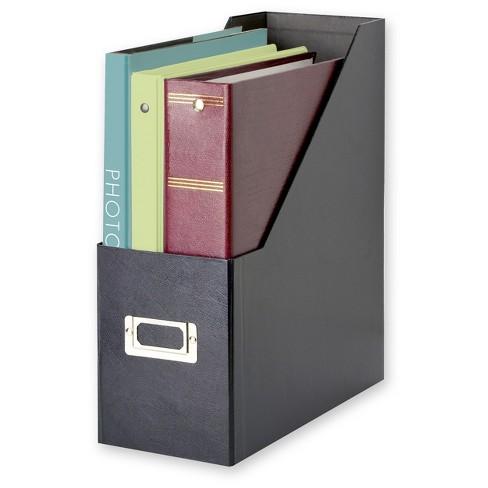 93e8dbe7aa8 Snap N Store® Jumbo Magazine File - Black   Target