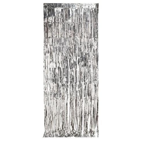 Silver Foil Door Curtain - image 1 of 1