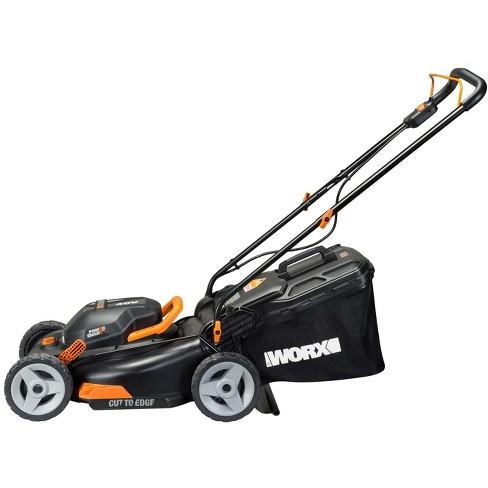 "Worx WG743 17"" - 40V (2x20) Walk Behind Lawn Mower - image 1 of 4"