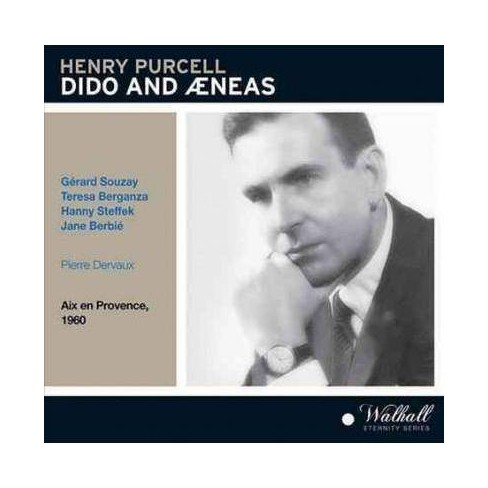 Pierre Dervaux - Purcell: Dido and Aeneas (CD) - image 1 of 1