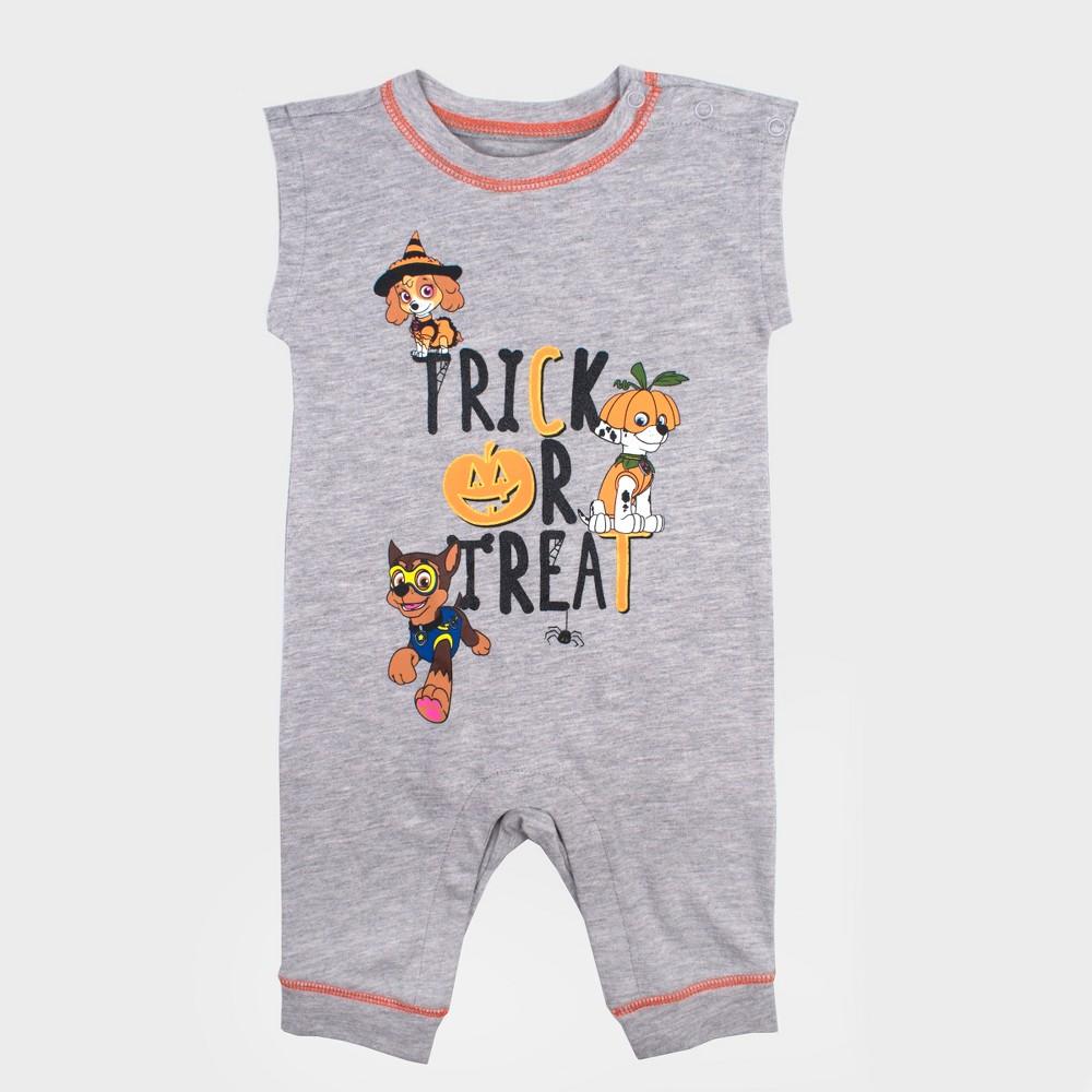 Baby Nickelodeon Paw Patrol Sleeveless Romper - Gray 24M, Infant Unisex
