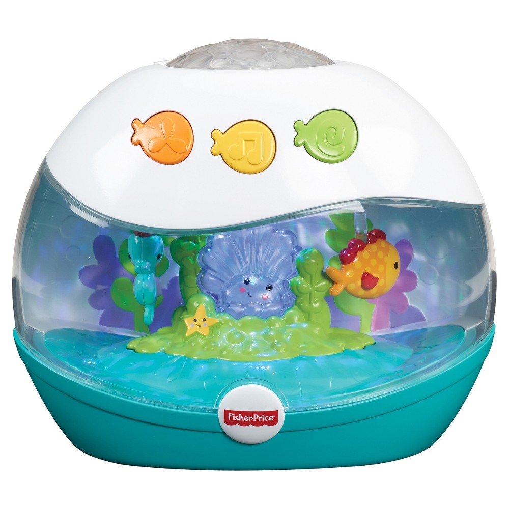 Fisher-Price Calming Seas Projection Soother, Blue