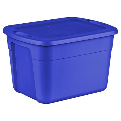 Superbe Utility Storage Tubs And Totes Plastic Blue   Room Essentials™