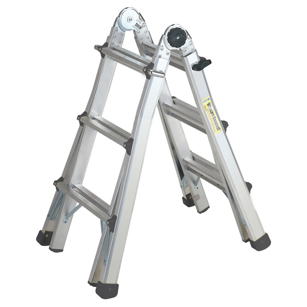 Cosco 13' Multi-Position Ladder System, Silver