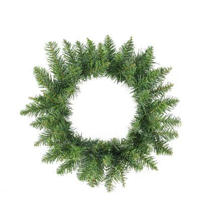 """Northlight 12"""" Unlit Buffalo Fir Artificial Christmas Wreath"""