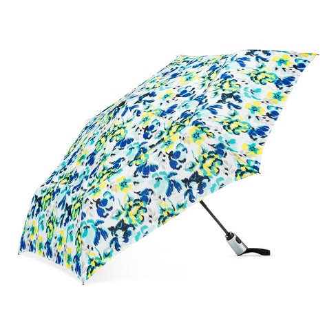 Cirra by ShedRain® Floral Compact Umbrella - White - image 1 of 2