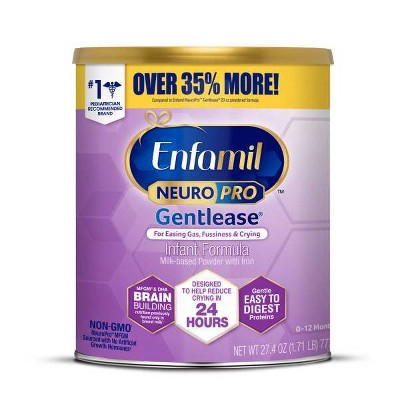 Enfamil NeuroPro Gentlease Infant Formula Powder - 27.4oz