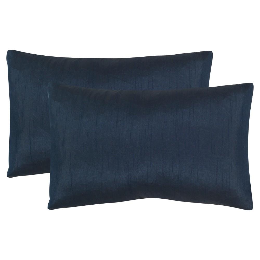 Blue Set Orat Throw Pillow - Safavieh