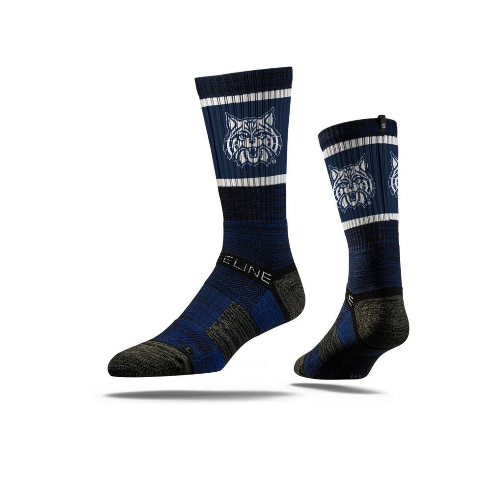 NCAA Mascot Premium Socks Arizona Wildcats M/L, Men's