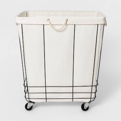 Industrial Rolling Laundry Basket - Threshold™