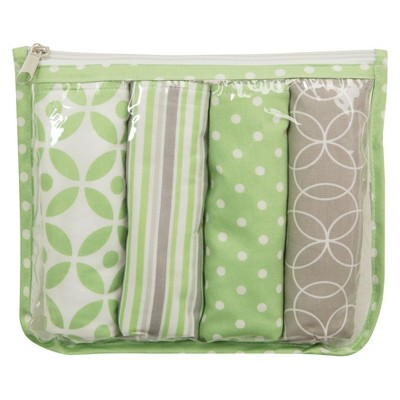 Trend Lab 5 Pack Burp Cloth Gift Set - Lauren