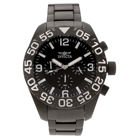 Men's Invicta 20455 TI-22 Quartz Multifunction Black Dial Link Watch - Black - image 1 of 3