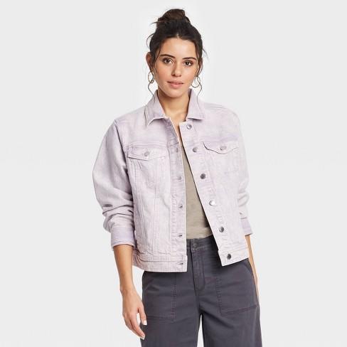 Women's Long Sleeve Denim Jacket - Universal Thread™  - image 1 of 3