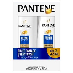 Pantene Pro-V Repair & Protect Shampoo and Conditioner Bundle - 24.6 fl oz