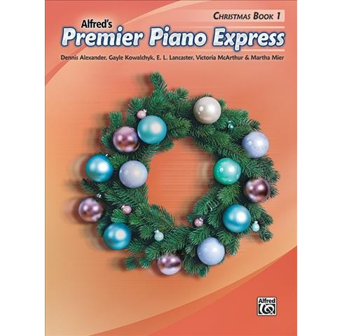 Alfred's Premier Piano Express Christmas Book 1 -  (Paperback) - image 1 of 1