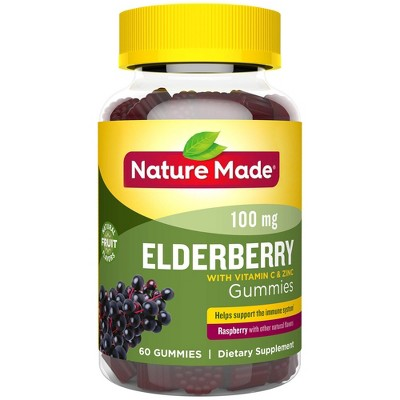 Vitamins & Supplements: Nature Made Elderberry Gummies