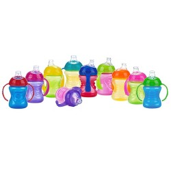 Nuby Bin Cup Super Spout Trainer- 8oz