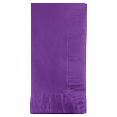 50ct Amethyst Purple Napkins