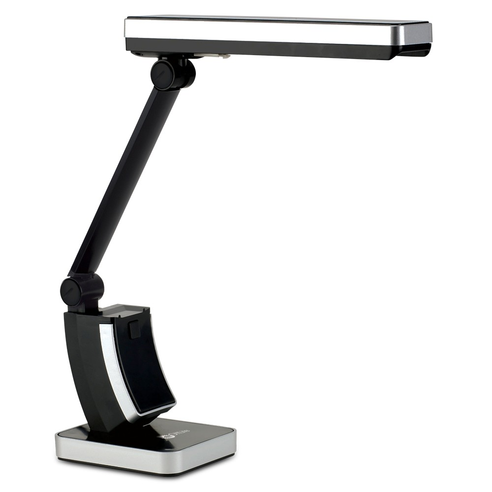 Image of 13W HD Slimline Table Lamp Black (Includes Energy Efficient Light Bulb) - OttLite