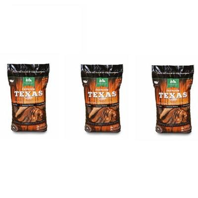 Green Mountain Grills Premium Texas Pure Hardwood Outdoor Grilling Pellets (3)