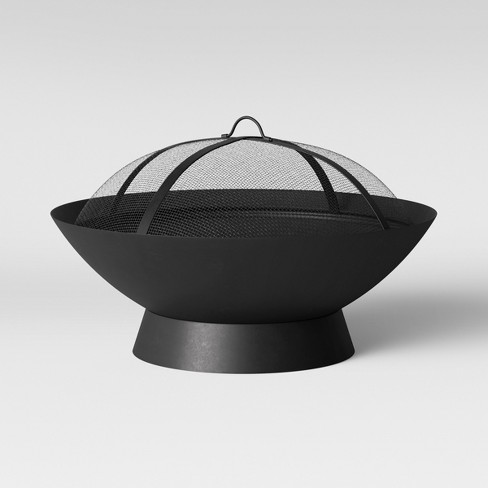 Bangor Woodburning Firepit - Black - Project 62™ - image 1 of 3