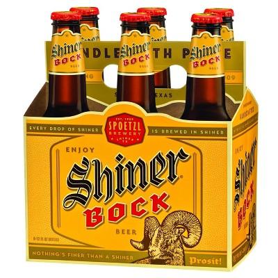 Shiner Bock Beer - 6pk/12 fl oz Bottles