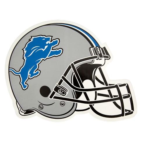 NFL Detroit Lions Large Outdoor Helmet Decal - image 1 of 1