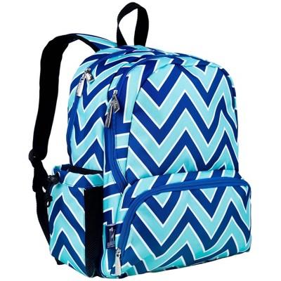 "Wildkin 17"" Zigzag Megapak Kids' Backpack - Blue"