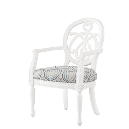 Eloise Accent Chair White - Powell Company - image 1 of 4
