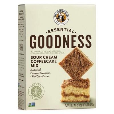 Baking Mixes: King Arthur Essential Goodness Sour Cream Coffeecake Mix