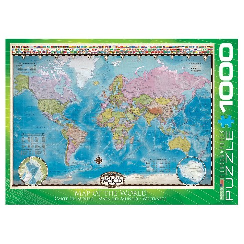 Map of the World 1000pc Puzzle : Target
