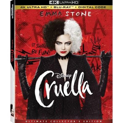 Cruella (4K/UHD + Blu-ray + Digital)