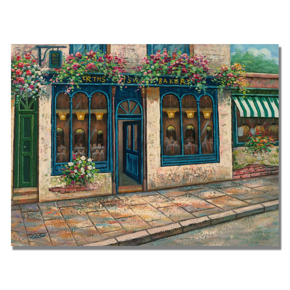 Trademark Fine Art 18 x 24 Rio 'Bakery' Canvas Art was $59.99 now $47.99 (20.0% off)