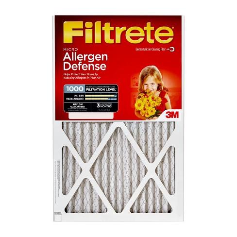 filtrete™ micro allergen 20x20x1, air filter : target