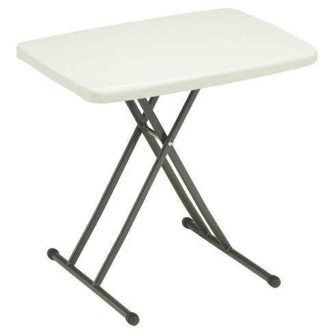Sudden Comfort Utility Personal Table - Mocha - Meco - image 1 of 2