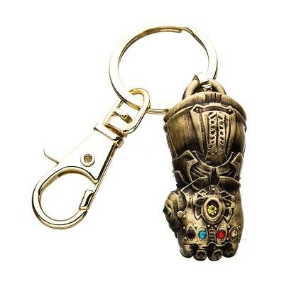 SalesOne LLC Marvel Avengers Infinity War Thanos' Infinity Gauntlet 3D Metal Key Chain