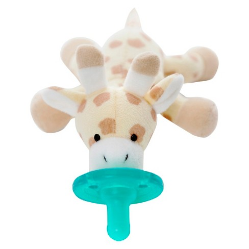 Wubbanub Giraffe Pacifier Brown Target