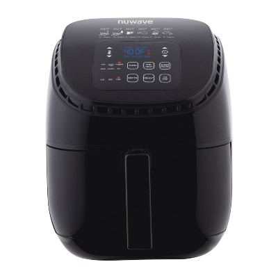 NuWave 3qt Electric Air Fryer - Black