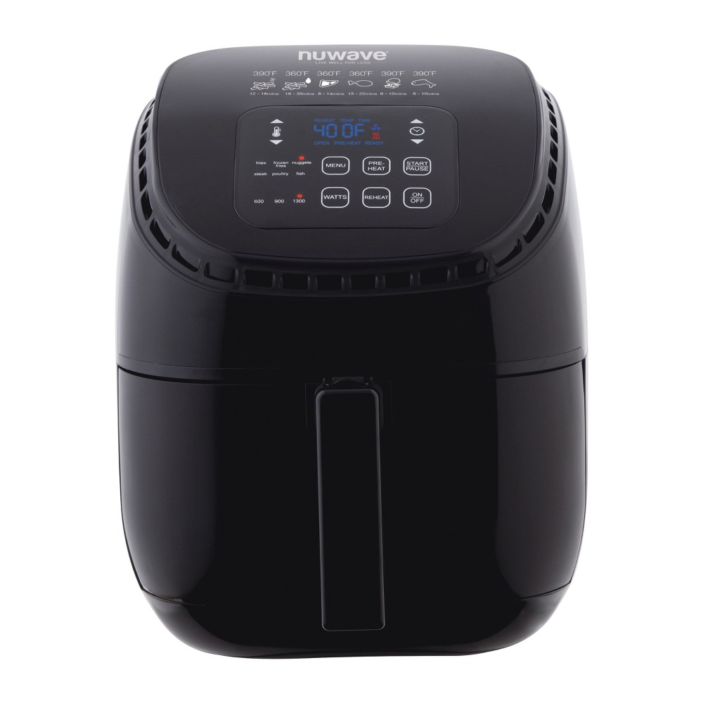NuWave 3qt Electric Air Fryer – Black 53432147