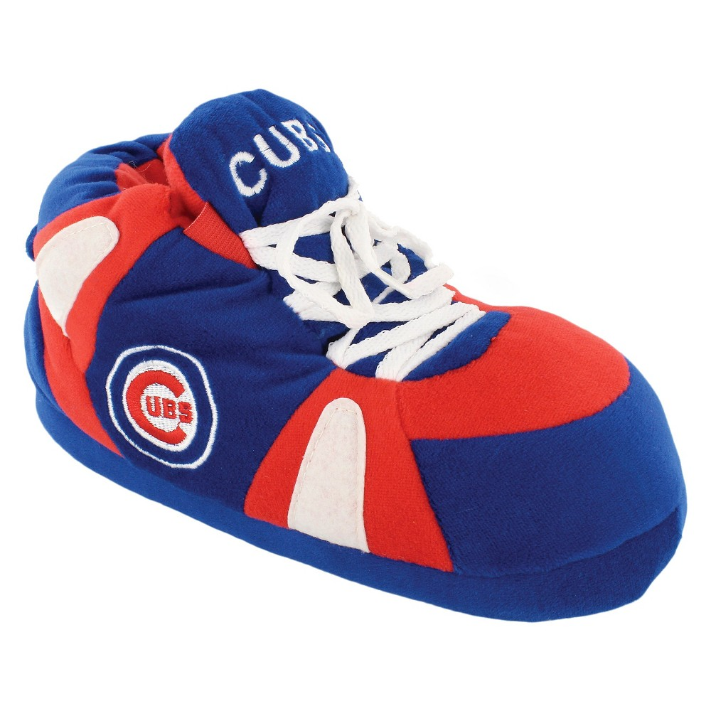MLB Chicago Cubs Comfy Feet Slippers - TC (M), Adult Unisex, Multicolored