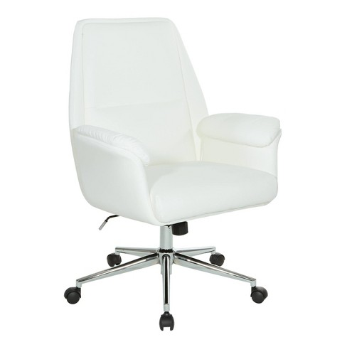Glenview Office Chair White - OSP Home Furnishings - image 1 of 4