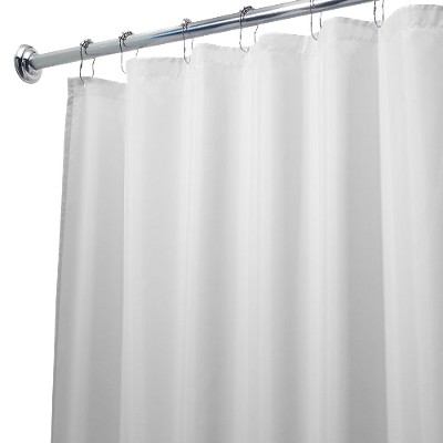 Waterproof Polyester Shower Curtain/Liner - iDESIGN