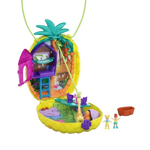 Polly Pocket Tropicool Pineapple Purse Fanny Pack Playset - image 1 of 4