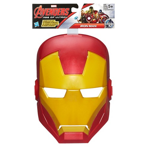 marvel avengers age of ultron iron man mask target