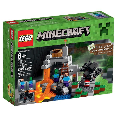 LEGO® Minecraft Creative Adventures The Cave 21113 - image 1 of 13