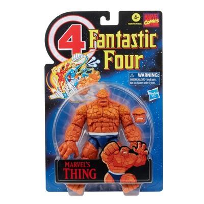Hasbro Marvel Legends Series Retro 6in Fantastic Four Marvel's Thing Figure
