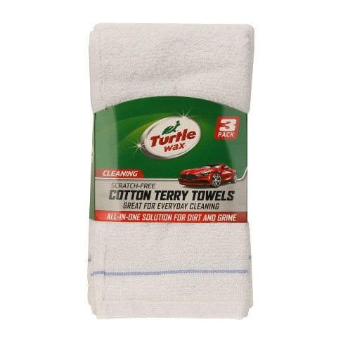 Turtle Wax 3pk Deluxe Terry Towels - image 1 of 4