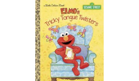 Elmo's Tricky Tongue Twisters (Hardcover) (Sarah Albee) - image 1 of 1