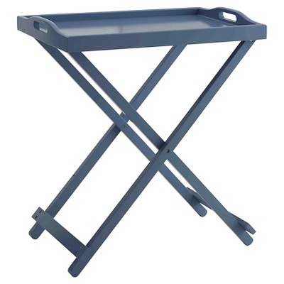 Tray Table Blue - Breighton Home